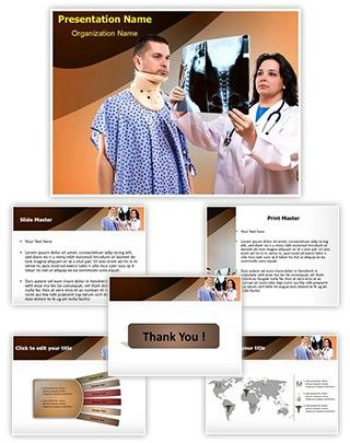 Neck X-ray PowerPoint Presentation Template is one of the best Medical PowerPoint templates by EditableTemplates.com. #EditableTemplates #X-Ray #Necktie #Beauty And Health #Surgeon #Neck Ache #Male #Suffering #Working #Medical #Attractive #Uniform #Low Key #Doctor  #Neck Brace #Skull #Injuinjury #Visit #Illness #Female #Radiologist #Radiology #Neck X-Ray #Physical Injury #Care #Adult #Rupture #Stethoscope #Accident #Expertise #Emergency