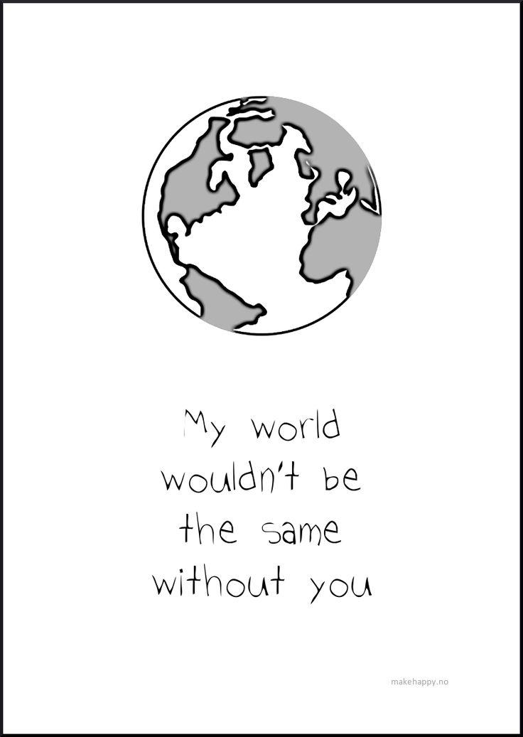 MY WORLD - makehappy.no