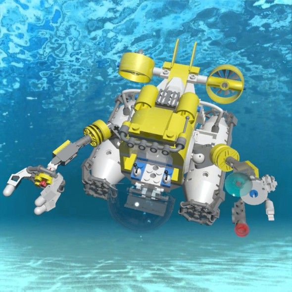 Lego Submarine Lego Submarine Lego Boat Lego Design