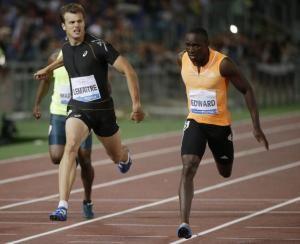 Alonso Edward ganó la prueba de los 200 mts. lisos de la gala de Roma, una de las paradas de la Liga Diamante de atletismo.