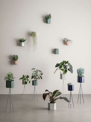Plant Stand - Dusty Green - Low