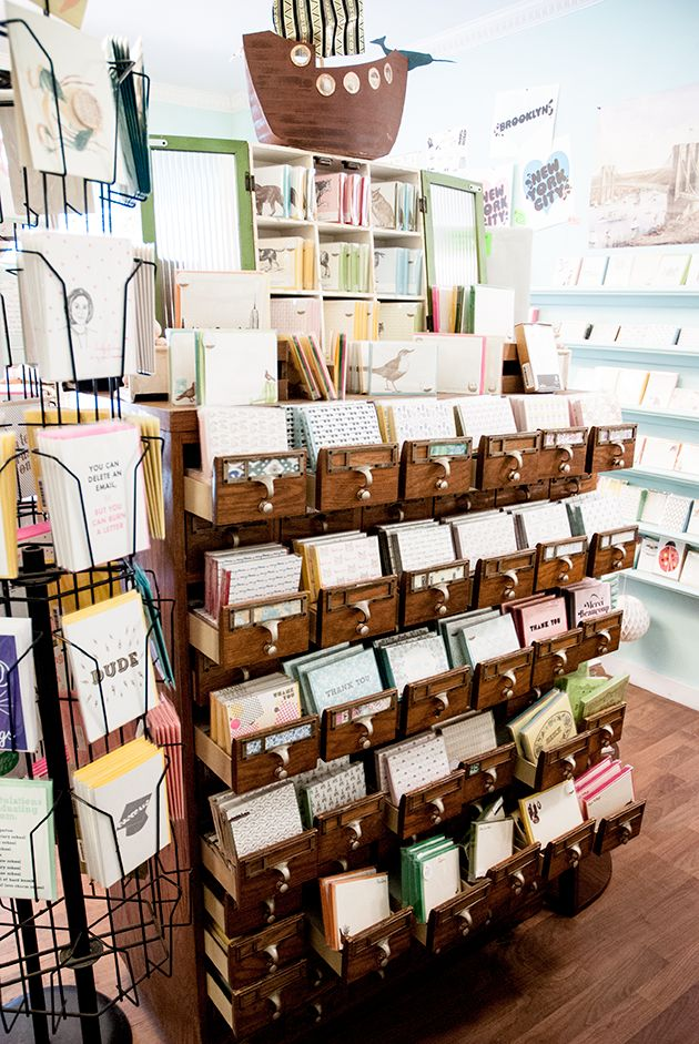 Greenwich Letterpress Stationery shop - New York
