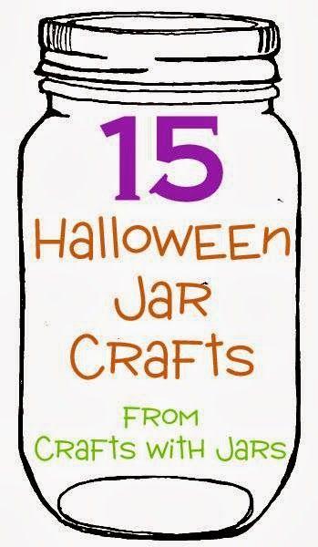Crafts with Jars: 15 Halloween Jar Crafts...Halloween luminaries from Jedi craft...cute!