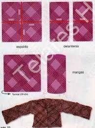 Resultado de imagen para moldes de vestuario con telar cuadrado