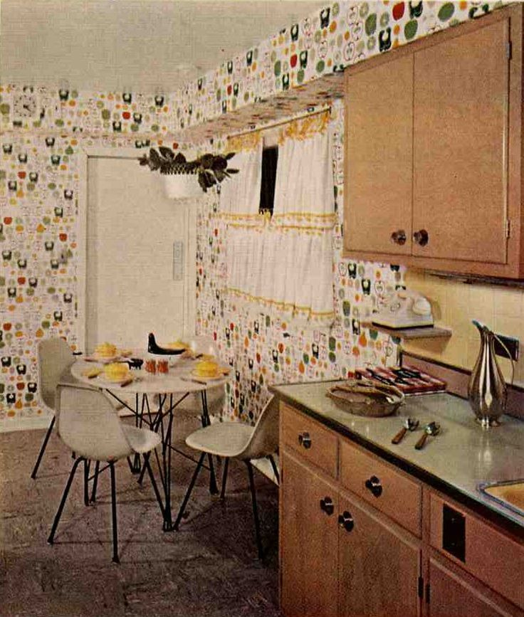 1950s Kitchen Cabinets: 1000+ Images About Mid-Mod Dream House On Pinterest
