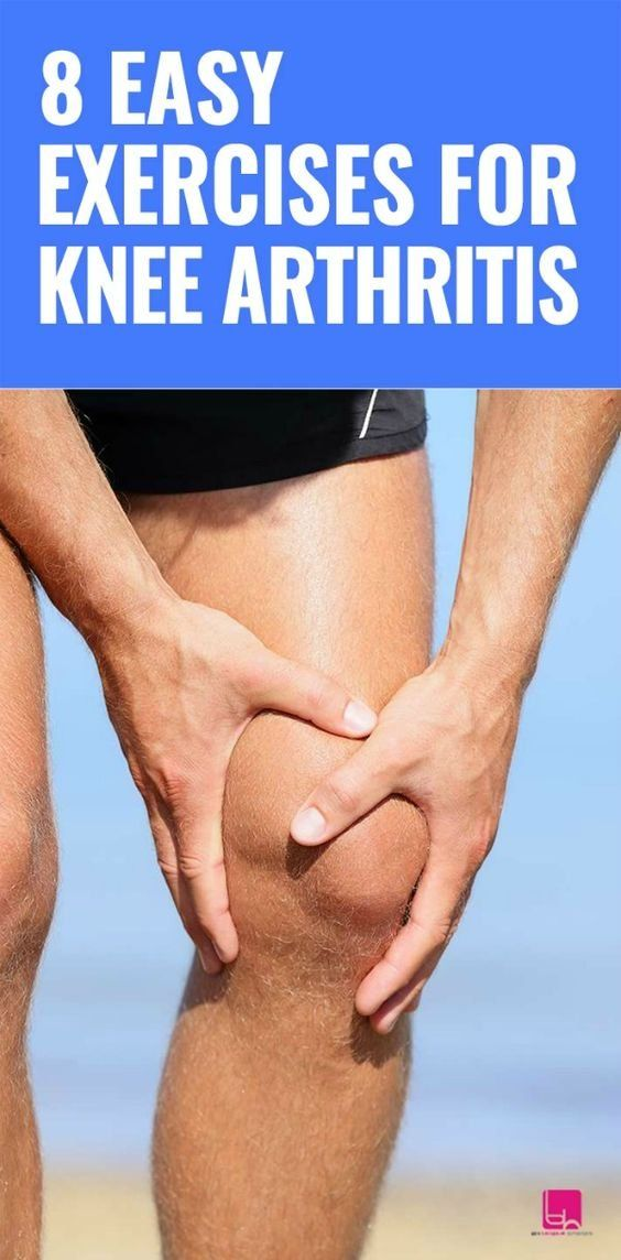 8 Easy Exercises for Knee Arthritis