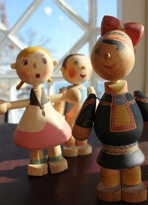 Toto dolls, Kaj Frank, Finland, 1945