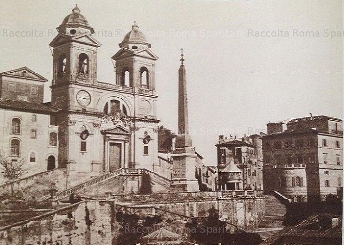 Trinità dei Monti  Anno: 1860 ca
