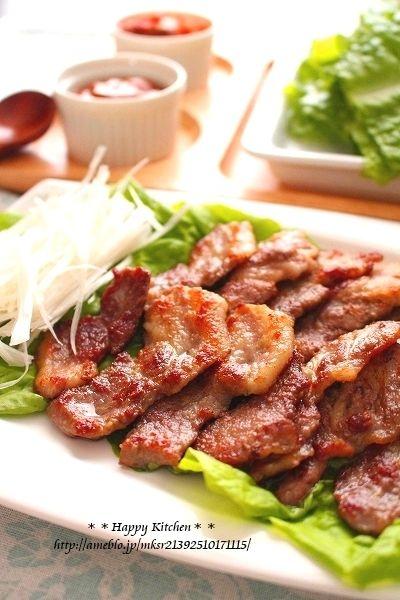 ピリっと美味しい!柚子胡椒風味のサムギョプサル |たっきーママ オフィシャルブログ「たっきーママ@happy kitchen」Powered by Ameba