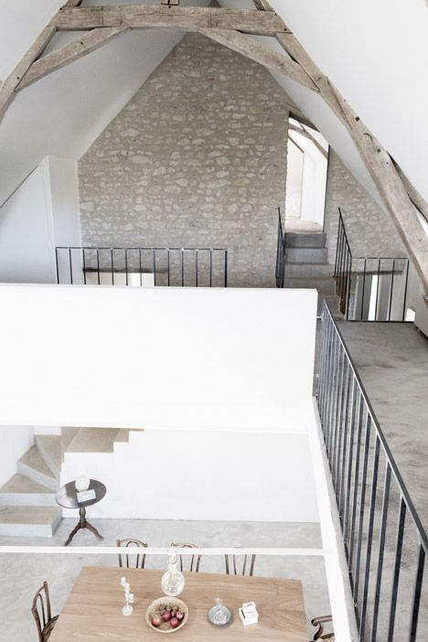 An old farmhouse in France's picturesque Loire Valley has been converted into a summer retreat by Paris architects Septembre