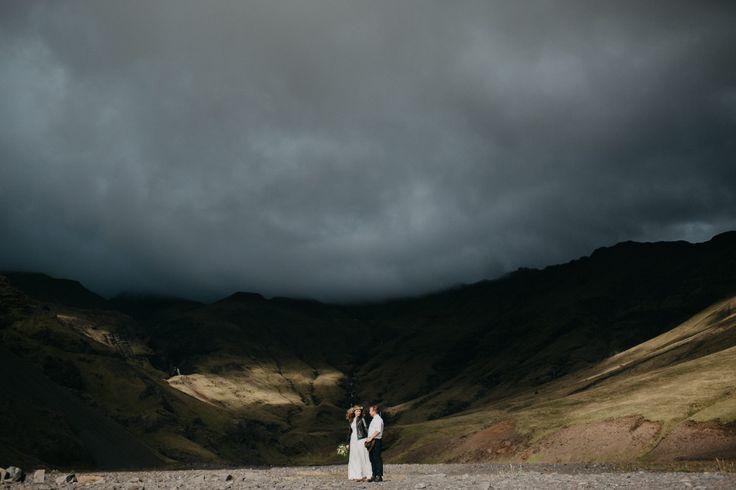 Iceland Elopement  L + Z <3 www.coupleofprague.com