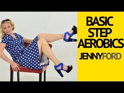 Basic Step Aerobics Fitness Cardio Workout -- Jenny Ford