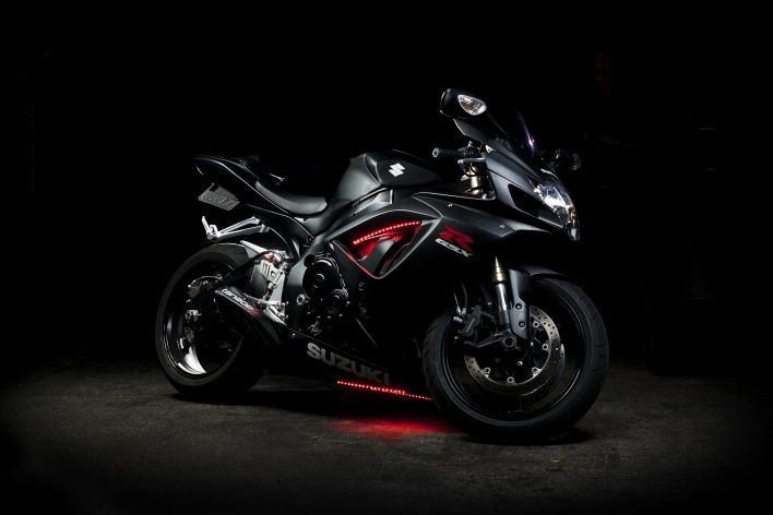 Suzuki с подсветкой