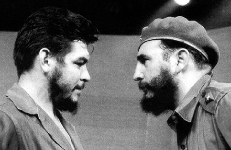 """Che & Fidel From website: Jake's """"Who Knew? They Knew Each Other World"""""""