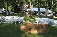 Simply farm wedding