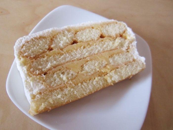 Biskottentorte - ohne Backen ~ Lady fingers cake - without baking