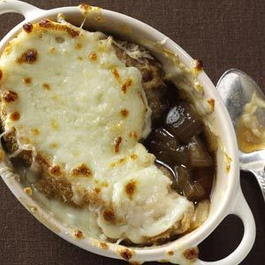 Rich French Onion Soup Recipe from Taste of Home -- shared by Linda Adolph of Edmonton, Alberta