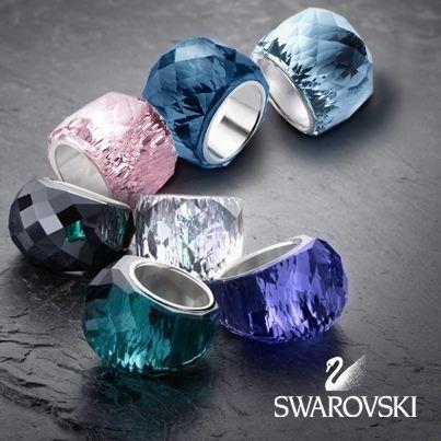 695540b20242 Swarovski - Nirvana Rings