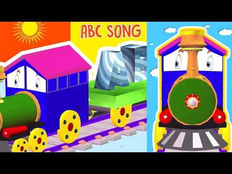 ABCD Alphabet Song, Train Animated ABC Song, Sing Along. Learn the alphabet with many ABCD songs. The best for children to learn the English alphabet.