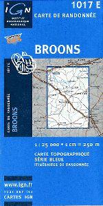 CIRCUIT DE BRONDINEUF - Carte Ign et topographique de la trace gps pour cette randonnée