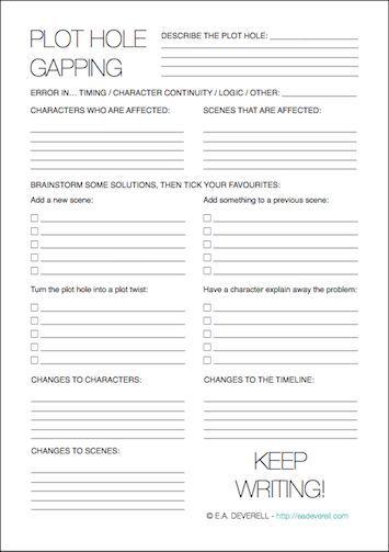 Character sheets creative writing