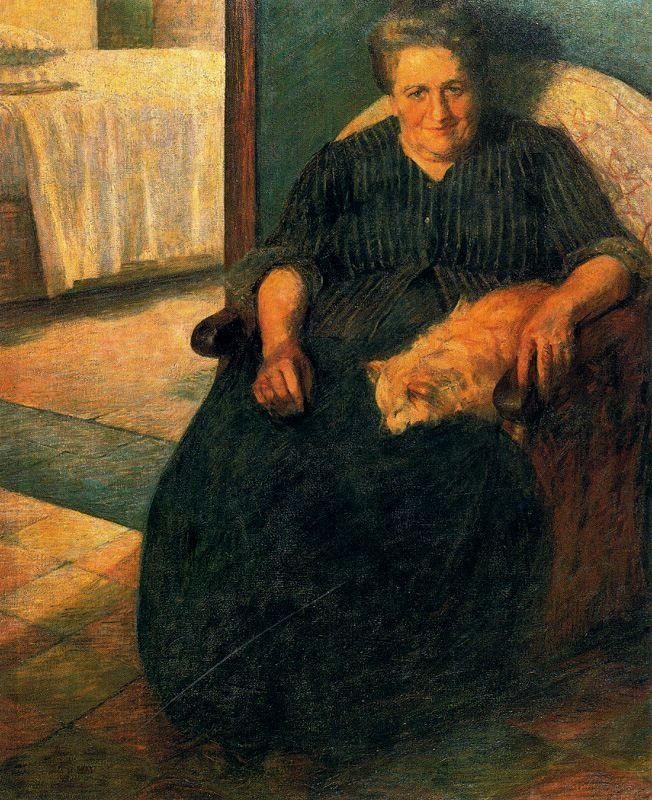 La Signora Virginia, 1905 | by Umberto Boccioni