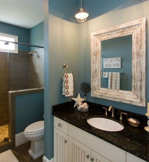 101 BEACH THEMED BATHROOMS! Discover Beautiful Nautical, Coastal, And Beach  Themed Bathroom Designs