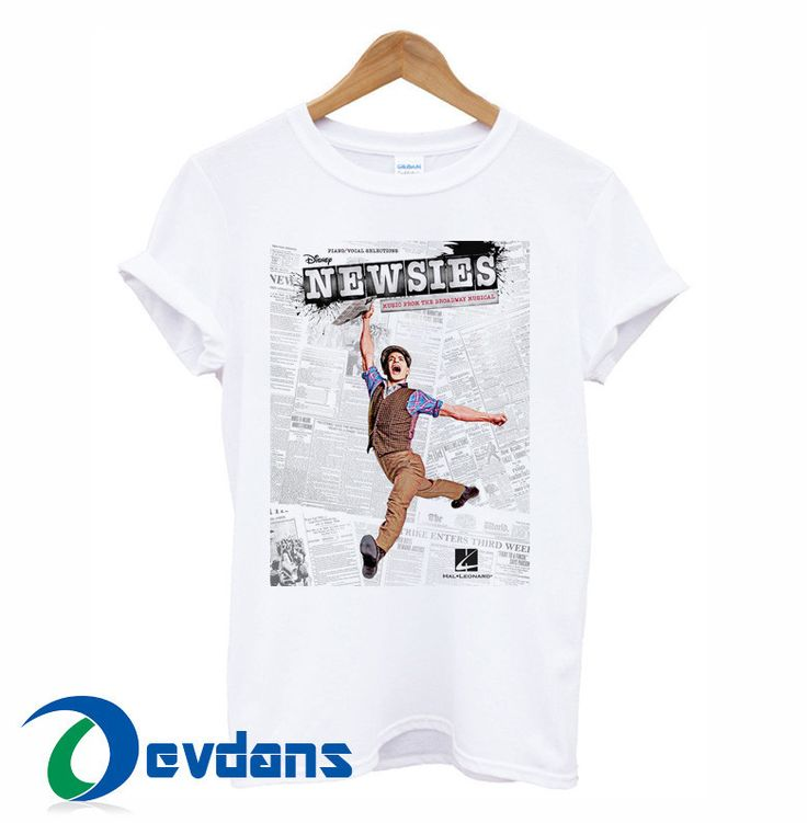 Newsies T-shirt men and women adult unisex size S to 3XL