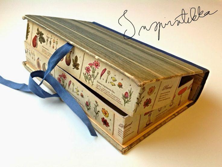 inspiratikka: kirjalaatikko
