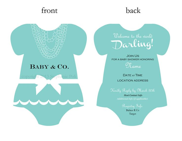 The 25+ best Tiffany baby showers ideas on Pinterest Tiffany - free online baby shower invitation templates