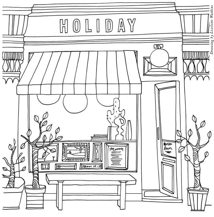 Cafe Holiday Should Open Its Doors In The Future Village Boileau Sixteenth Arrondissement Of Paris
