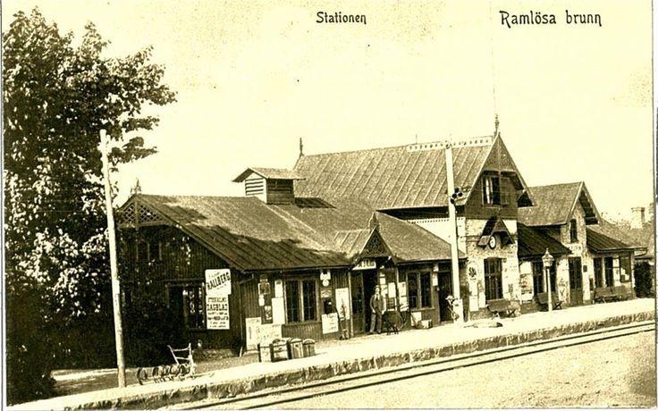 Helsingborg Ramlösa Järnväg Station