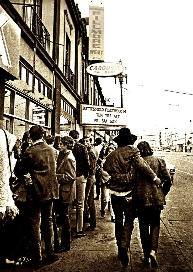 Fillmore West, San Francisco (1968) Photography by Jim Marshall