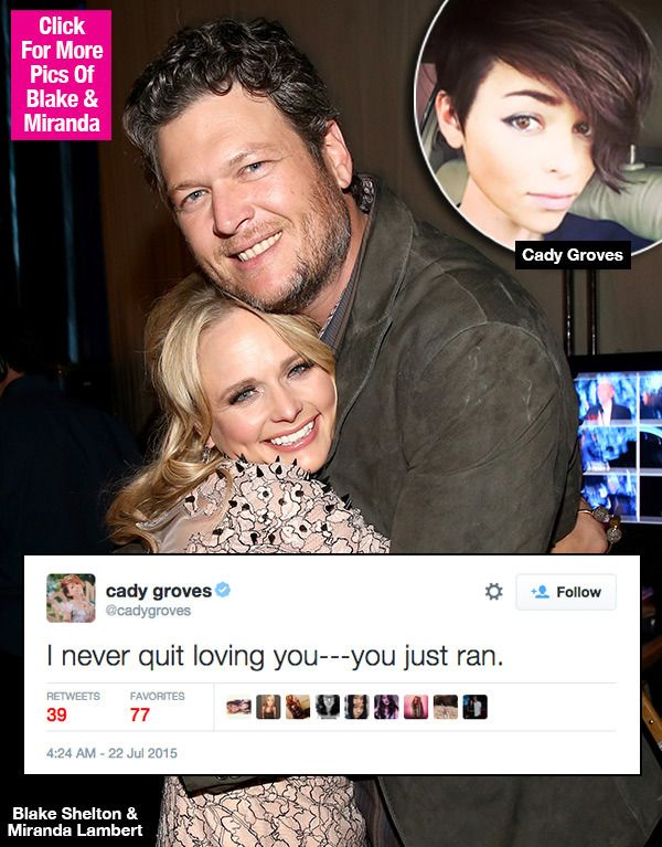 Cady Groves' Cryptic Twitter Rant About Blake Shelton? — Fans FreakOut