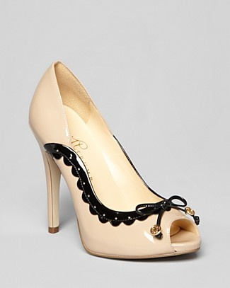 Shop for Peep Toe Platform Spectator Pumps - Becka High Heel by Ivanka Trump  at ShopStyle.