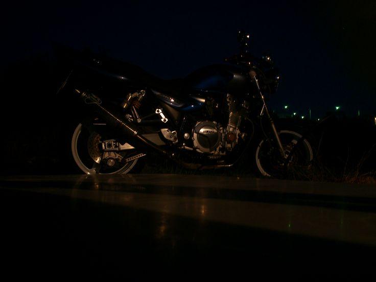 moto at night