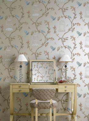 Nina Campbell Birdcage Wallpaper Ships Free