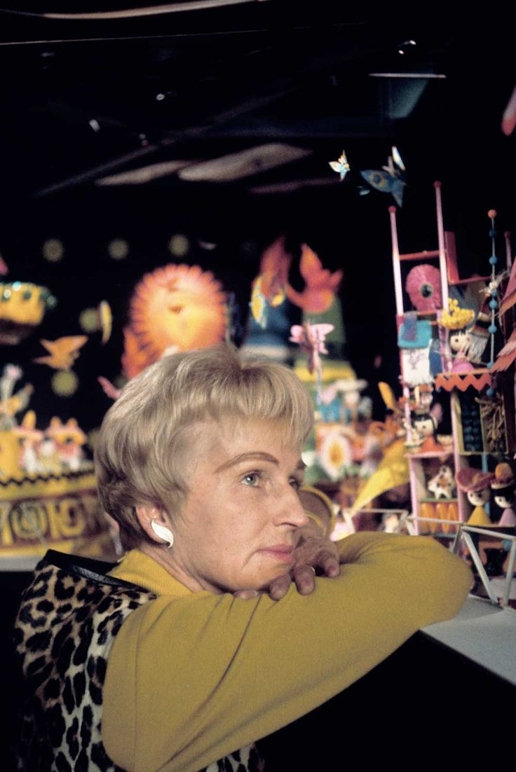 """The Big Job of Creating 'It's a Small World': A Tribute Gallery - South Bend Tribune: Parade Entertainment. """"i want to make a scale model of It's a Small World. It is my obsession along with all of Mary Blair's work."""" ~ Nikole {MyWhittleWorld}"""