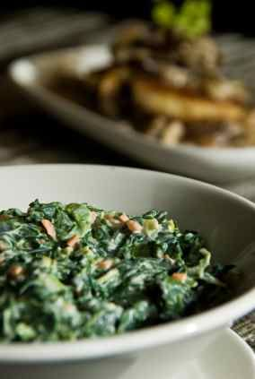 Lawry's Creamed Spinach – Served at Lawry's Prime Rib Restaurant in Beverly Hills.