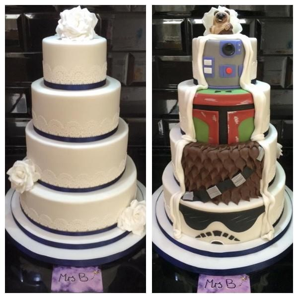 wedding cakes for two grooms two sided reveal wars wedding cake cake by 24385