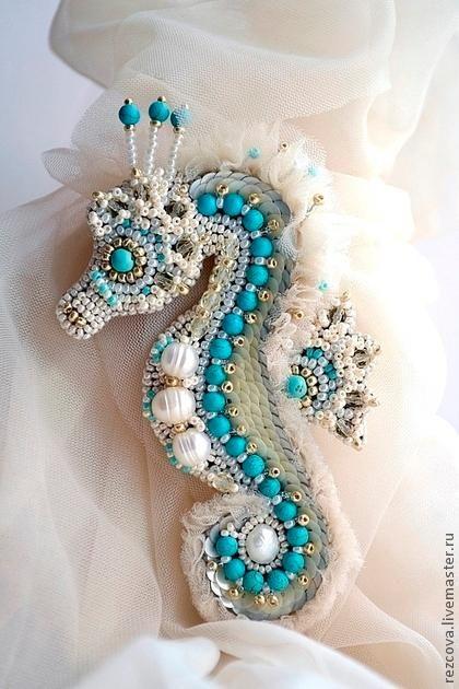 Handmade animal brooch. Craft ideas from LC.Pandahall.com                                 #pandahall