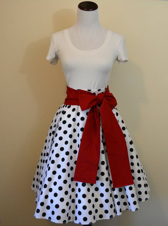 101 Dalmatians Pongo and Perdita Inspired Circle/Swing Skirt and Collar Sashes