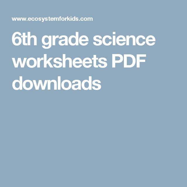 25+ best 6th Grade Worksheets trending ideas on Pinterest | Free ...