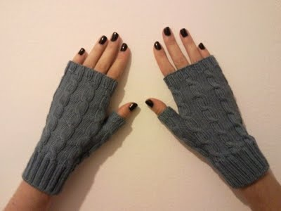 Cotton Mittens