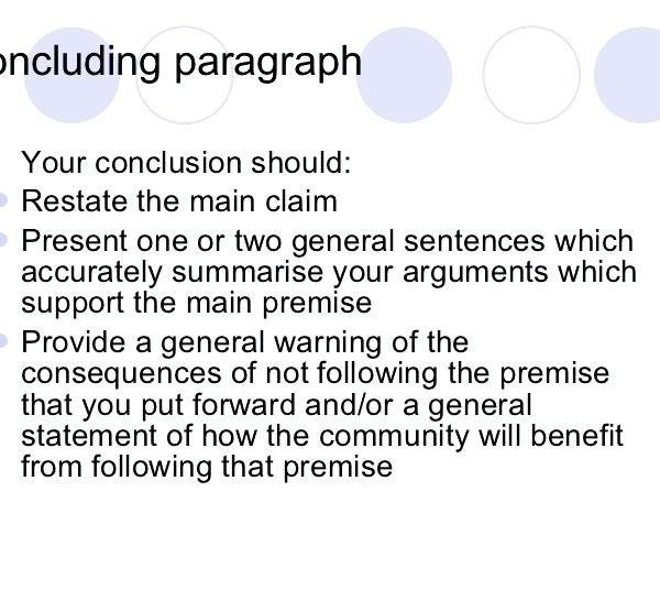Writing An Argumentative Essay Conclusion Mistyhamel With Regard To Conclusion19677 Conclusions