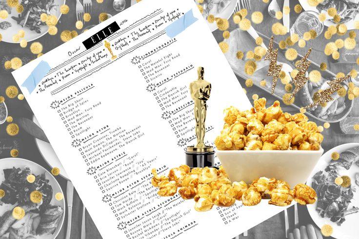 ¡Hagan sus apuestas! Los premios Oscar ya están a la vuelta de la esquina. Descarga nuestra quiniela y organízate con tus amigas y amigos para hacer sus apuestas sobre quién ganará el Oscar en diferentes categorías. ¡Compártenos tus predicciones en nuestras redes sociales!