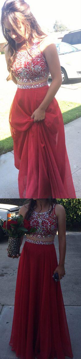 So charming Beading Prom dress.