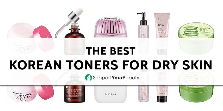 The Best Korean Toners for Dry Skin – 2017 Reviews & Top Picks - Check it out here https://supportyourbeauty.com/best-korean-toners-for-dry-skin/ on Support Your Beauty!  #Toners #beauty