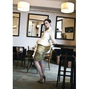 DP Dorota Pietruszka - silk dress