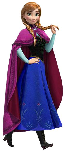 Anna in full costume (mittens and cap missing). Great INSPIRATION.